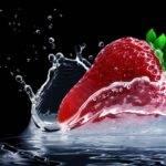 Soupe froide de fraises