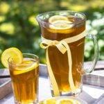 Recette de thé vert glacé fruit de la passion