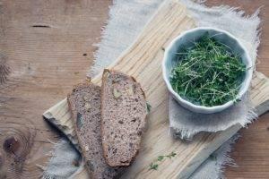 Recette de Salade de cresson à l'açai