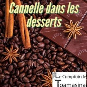 Cannelle dans les desserts