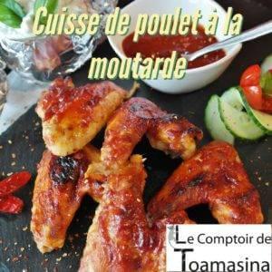 Recette de cuisses de poulet