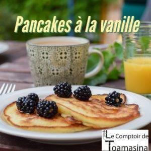 Recette de Pancakes à la vanille