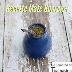 Yerba Maté, Guarana et épices
