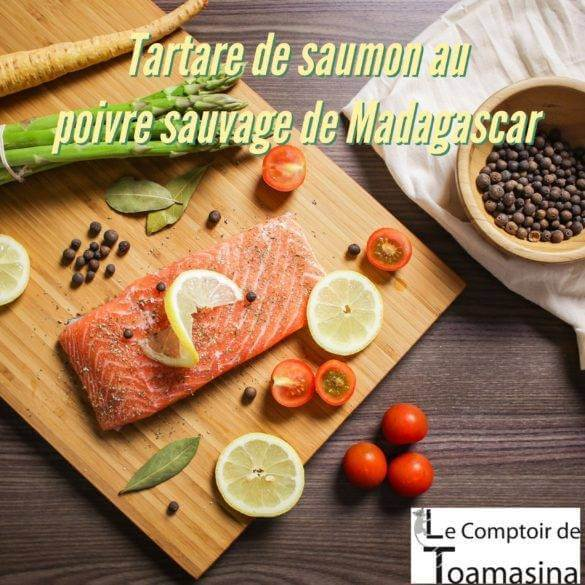 Recette de Tartare de saumon au poivre sauvage