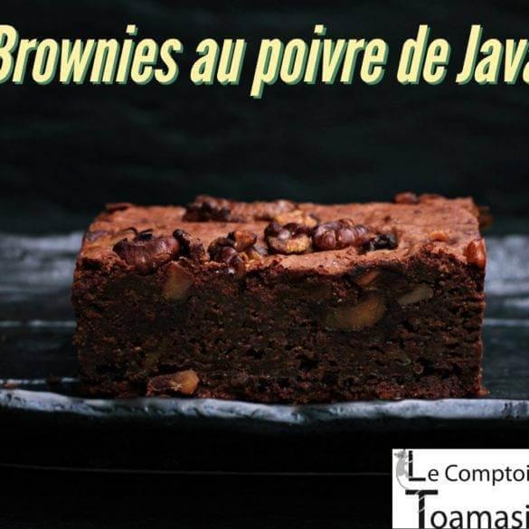 Recette des Brownies au poivre de java