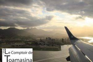 Rio de Janeiro arrivée Santos Dumont
