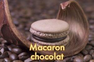 Macarons chocolat blanc aux 4 épices