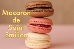 Macaron de Saint émilion