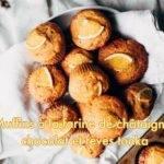 Muffins à la farine de châtaigne chocolat Fève Tonka