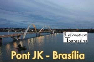 Visiter Brasilia le Pont Jk de Brasilia