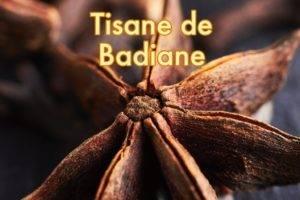 Recette de Tisane de Badiane