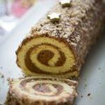 Recette de la Bûche de Noël chocolat vanille de Tahiti et fève tonka