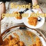 Recette de Biryani de Poulet au Safran d'Iran