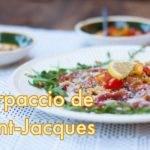 Recette de Carpaccio de Saint-Jacques