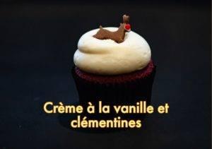 Crème à la vanille et clémentines