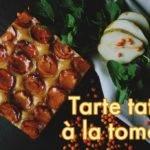 Recette Tarte Tatin à la tomate au poivre sauvage