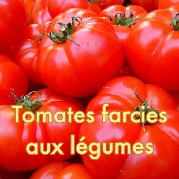 Tomates farcies aux légumes au poivre sauvage de..