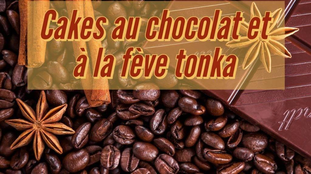 Cakes au chocolat et à la fève tonka