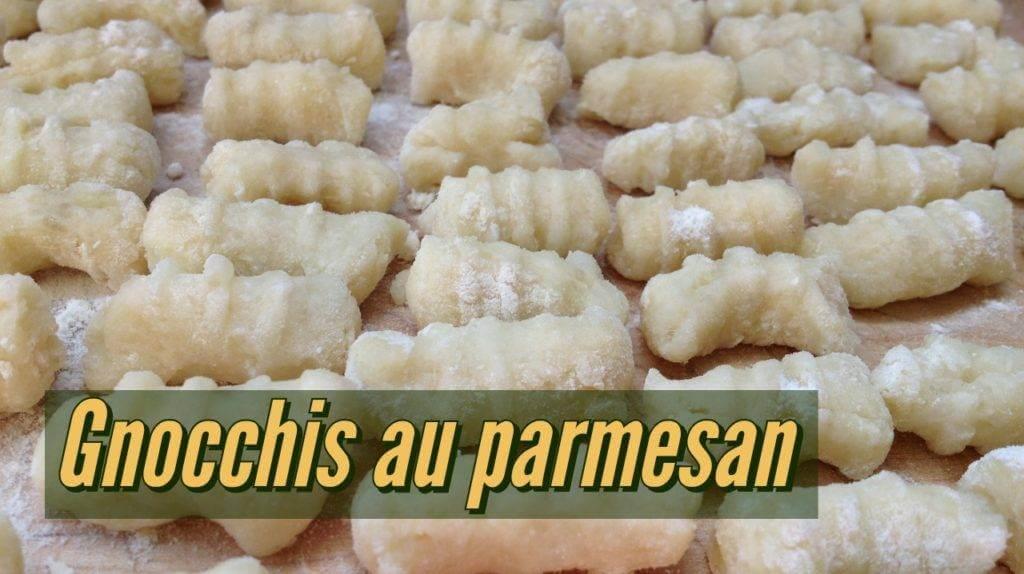 Recette de Gnocchis au parmesan