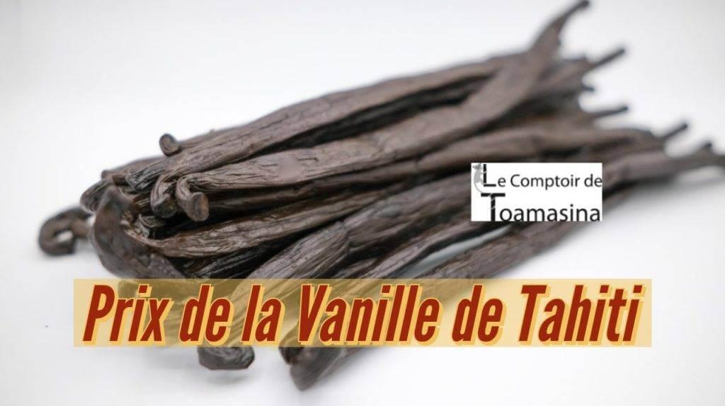 Gousse de vanille de Tahiti au meilleur prix au kilo Arnaud vanille