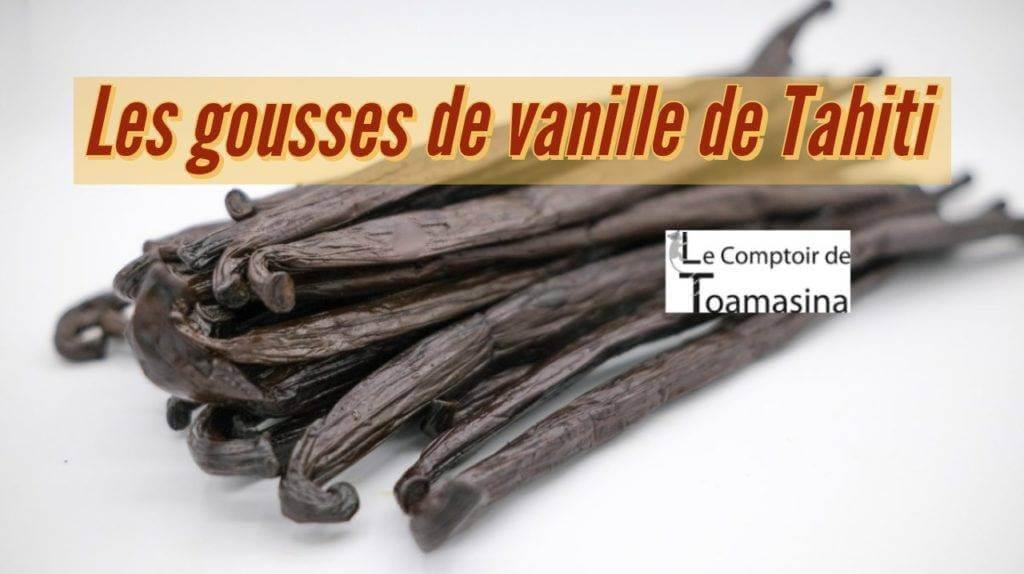 Acheter des gousses de vanille de Tahiti au meilleur prix