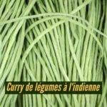 Curry de légumes à l'indienne