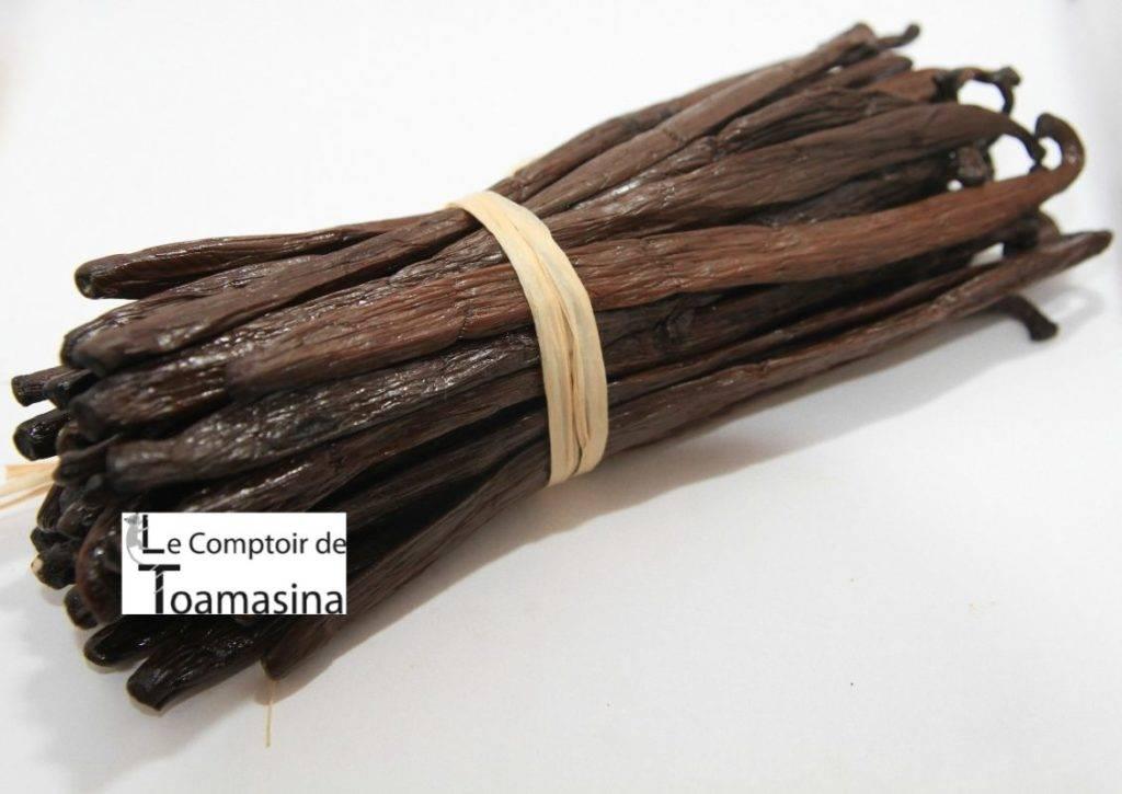 Favas de baunilha Bourbon de Madagascar