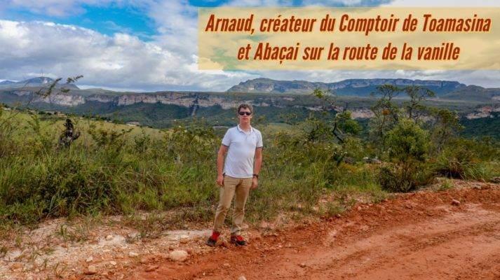Arnaud Sion, expert en gousse de vanille