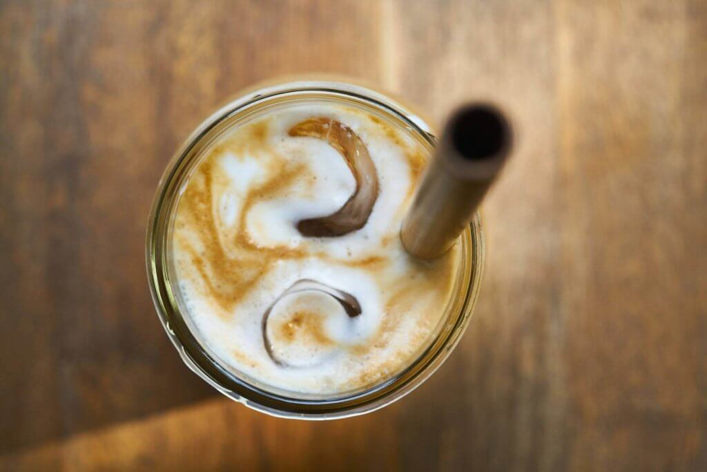 Recette Latte Açai Myrtille