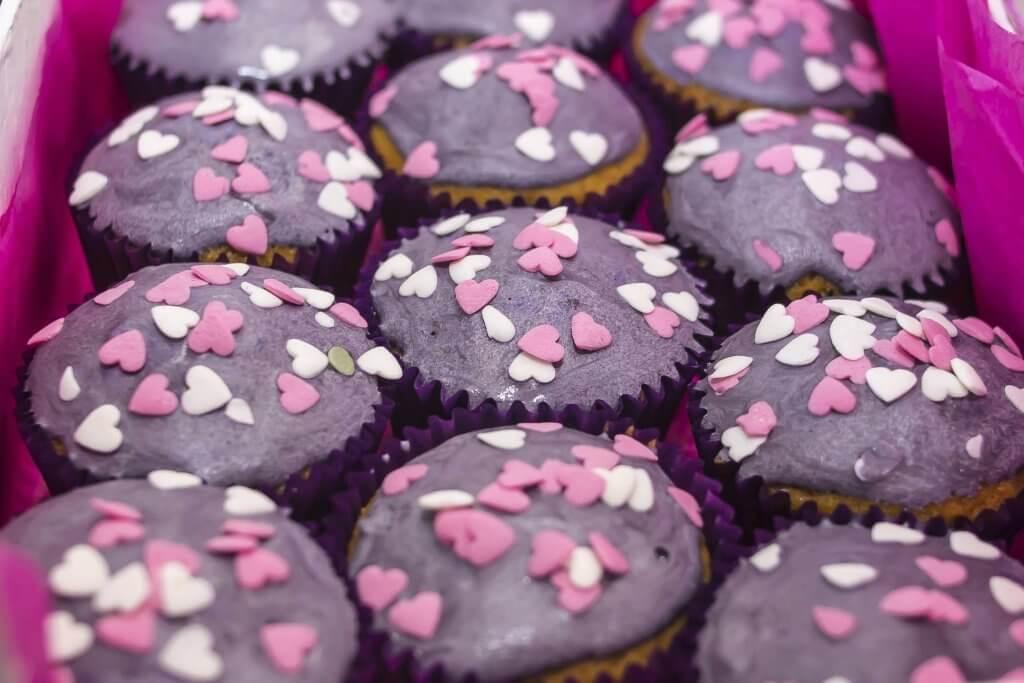 Recette de muffins vegan açai