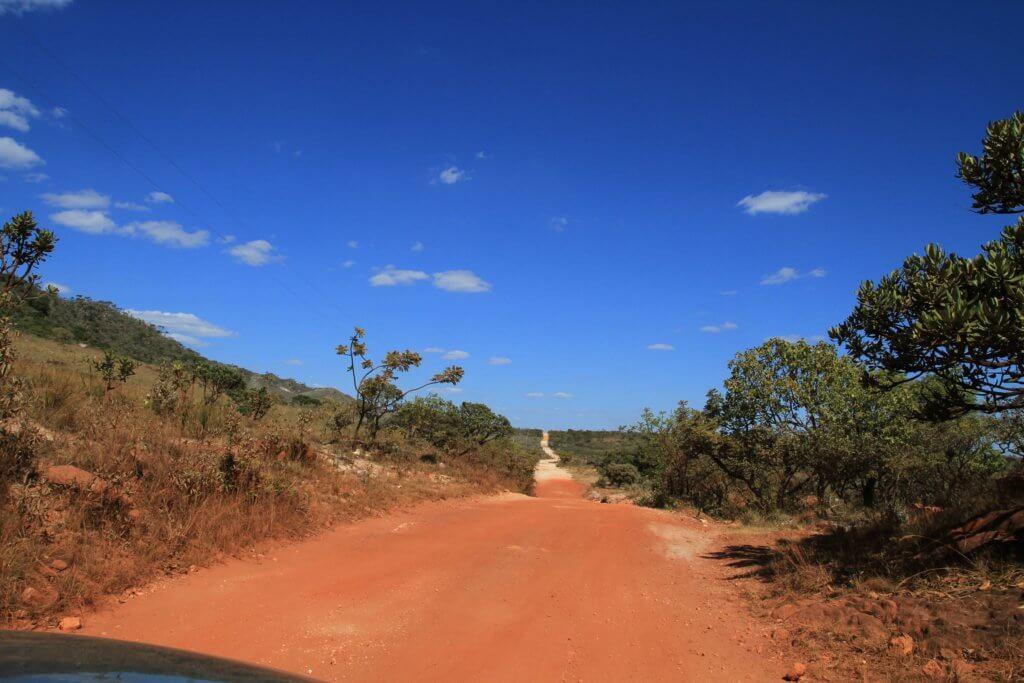 La route de la serra do cipo