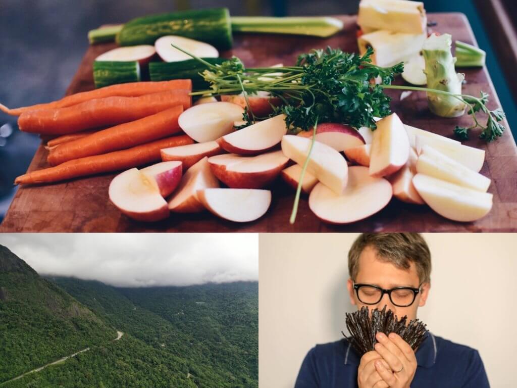 Taboulé aux fruits d'été et aux épices