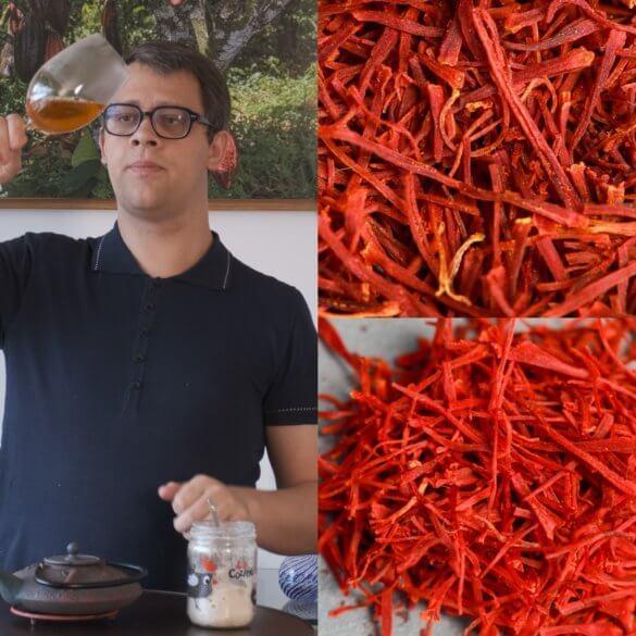 La véritable recette du Thé Vert au Safran