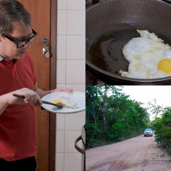 Comment faire des œufs frits au poivre sauvage de Madagascar