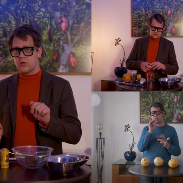 Comment faire une mousse au chocolat à l'orange et à la cannelle
