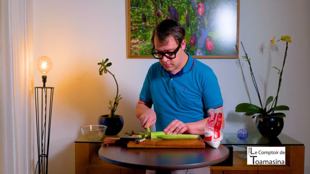Comment rendre le concombre croquant l'art de travailler les légumes