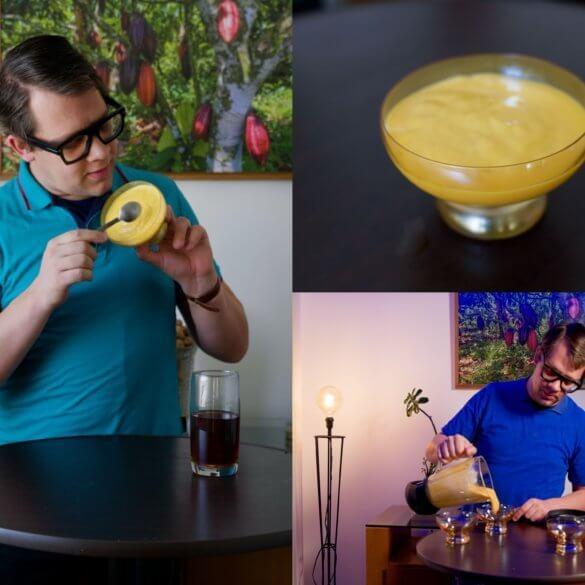 La meilleure recette brésilienne de la mousse de mangue au poivre rouge de Kampot